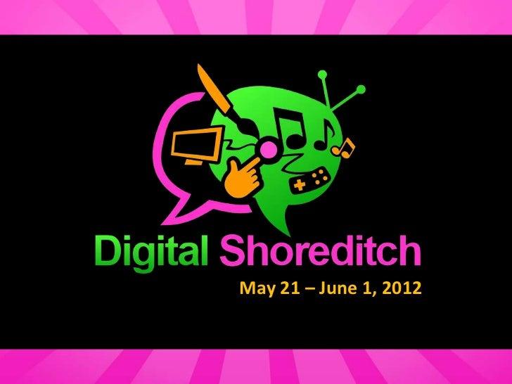 May 21 – June 1, 2012