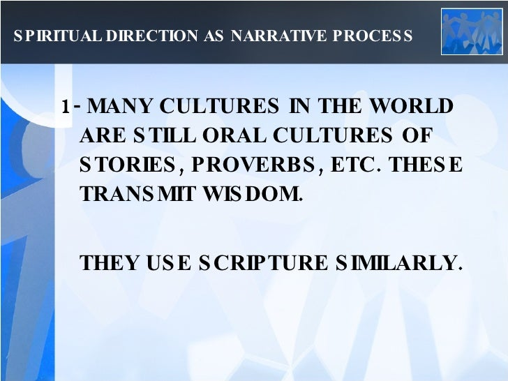 narrative therapy spiritual direction Narrative therapy with university students  key terms: spirituality,  narrative therapy, social constructionism, pastoral  spiritual guide's advice.