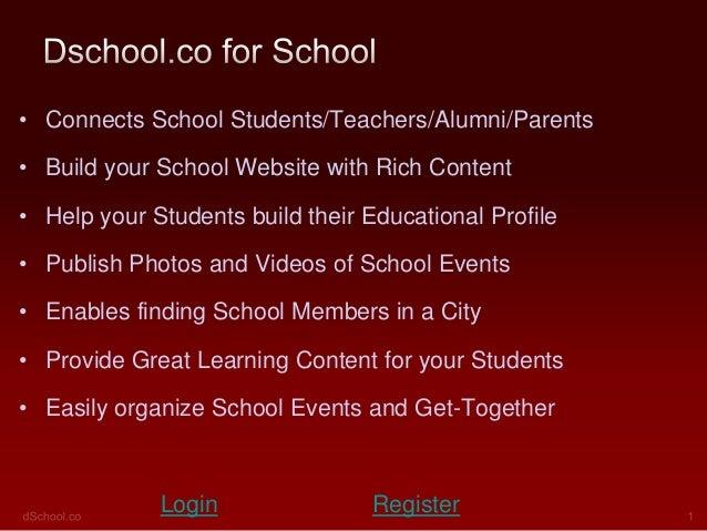 Dschoolpresentationschool