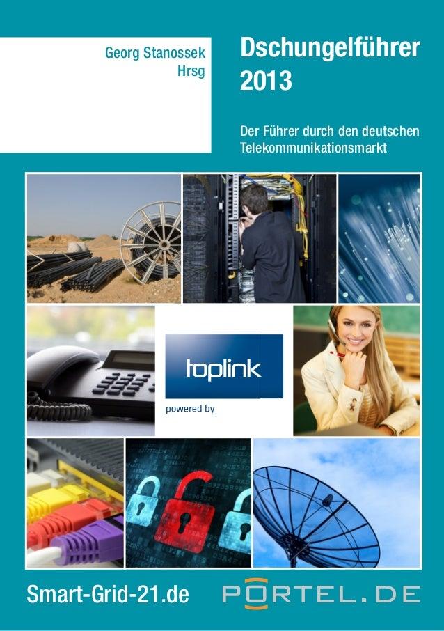 Georg Stanossek Hrsg  Dschungelführer 2013 Der Führer durch den deutschen Telekommunikationsmarkt  Smart-Grid-21.de