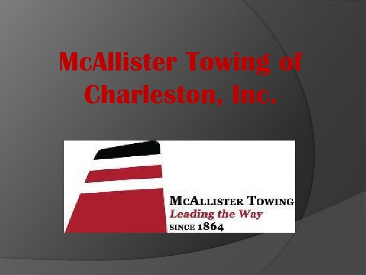 McAllister Towing of Charleston, Inc.<br />