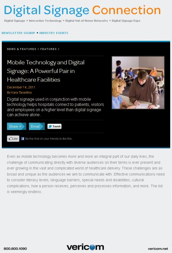 DSE digital signage and social media