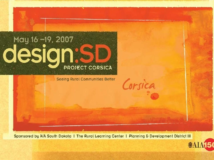 AIA South Dakota | Rural Learning Center Planning District III | Corsica Commercial Club         Corsica Public School Dis...