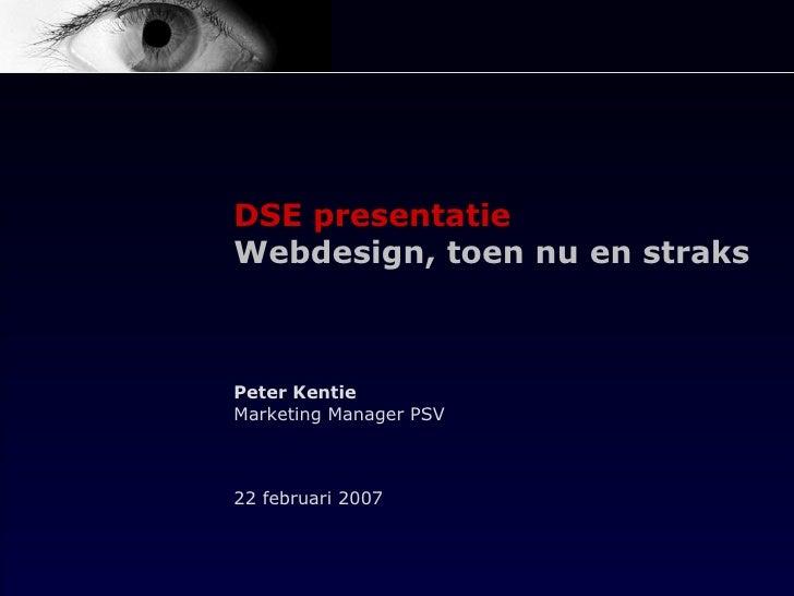 DSE presentatie