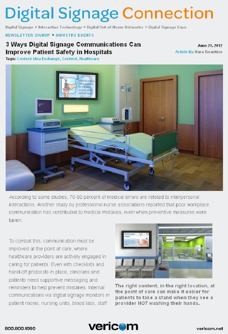 DSE Article Improve Patient Safety