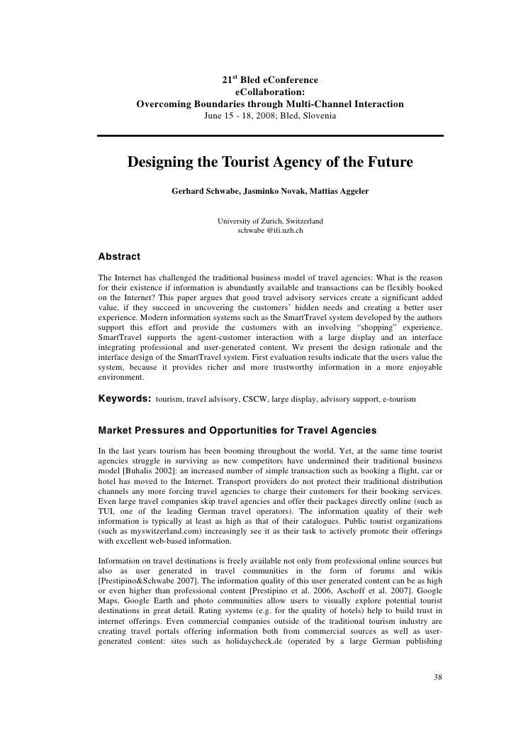 D:\Settings\U115501\Desktop\Designing The Tourist Agency Of The Future
