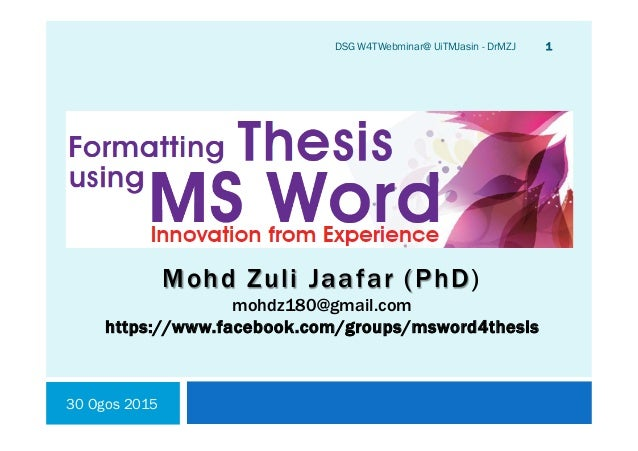 Phd Thesis Or Dissertation