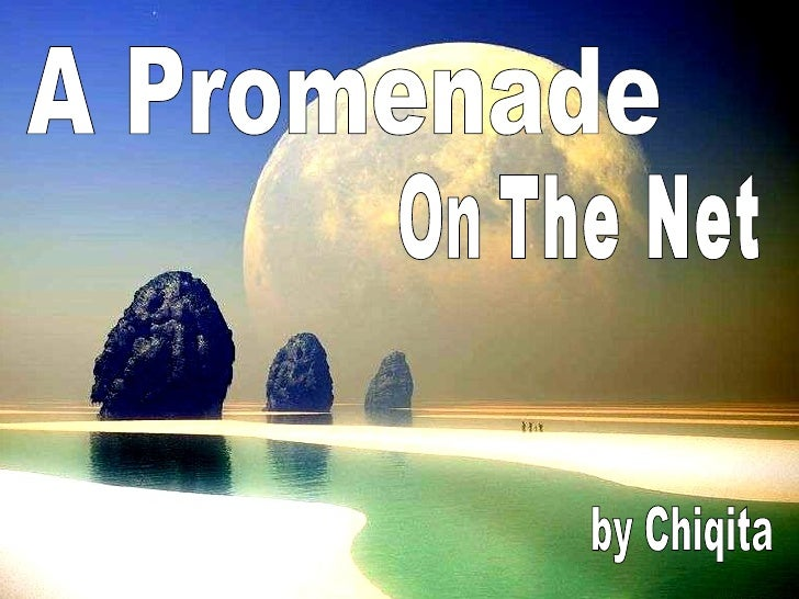A Promenade The Net by Chiqita On