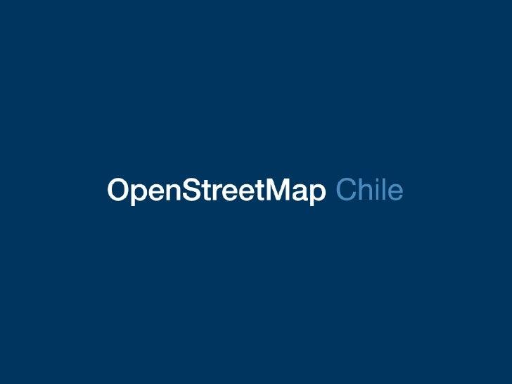 OpenStreetMap Chile en el Día del Software Libre 2008 (Valparaíso)