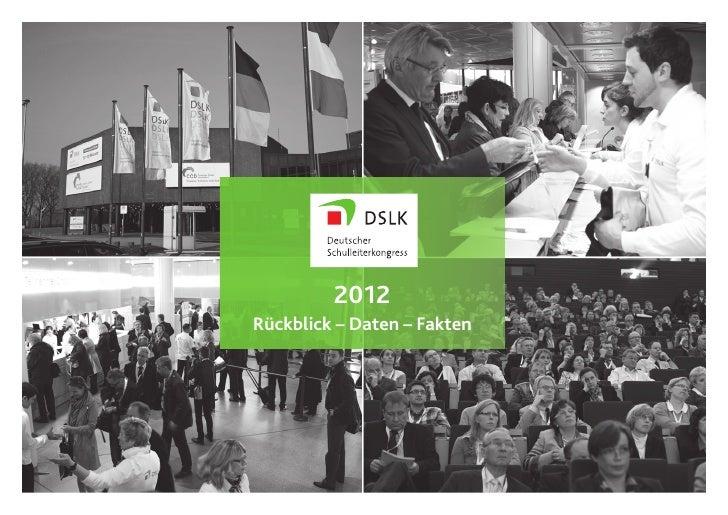 Daten und Fakten DSLK 2012