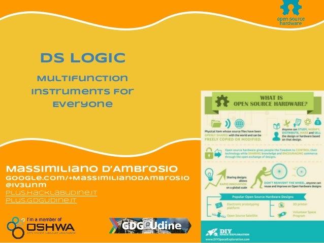 Streaming LIVE Massimiliano D'Ambrosio google.com/+MassimilianoDAmbrosio @iv3unm plus.hacklabudine.it plus.gdgudine.it DS ...