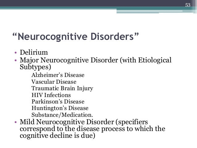 amnestic disorder