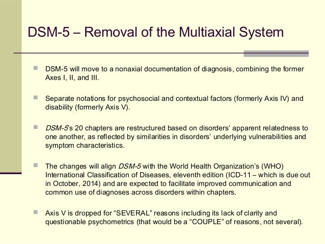 Dsm 5 axes dsm 5 removal of the