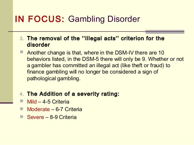 Diagnosing with the DSM-5