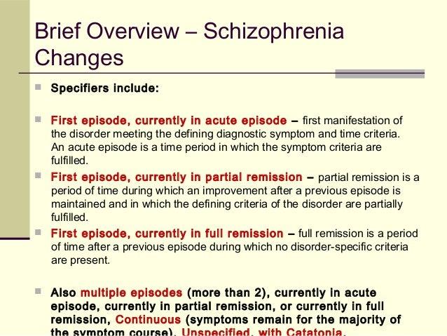 an overview of catatonic schizophrenia Catatonic schizophrenia - overview of the signs and symptoms of catatonic schizophrenia, as well as its causes and effects (schizophreniccom.