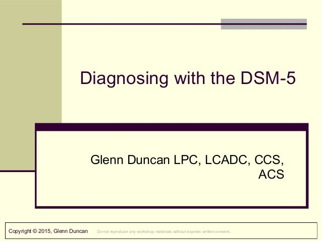 Dsm 5 axes dsm 5 diagnosis example