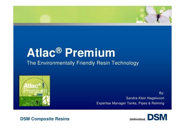 Dsm atlac premium_environmentally friendly technology