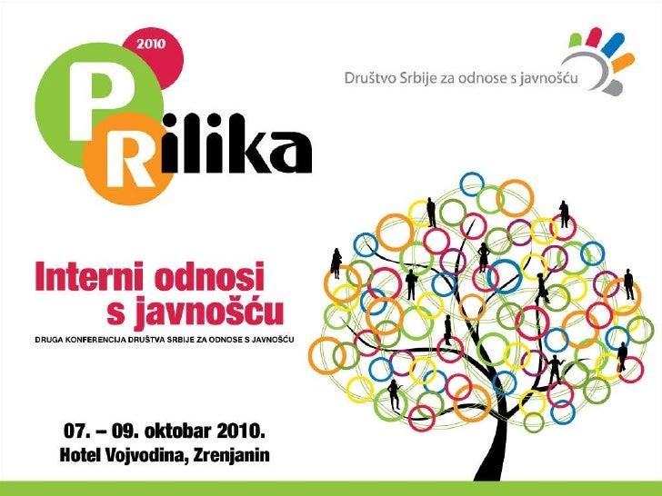 PRilika 2010- Dragana Roter- Upotrebi intraneta u  internim odnosima s javnoscu
