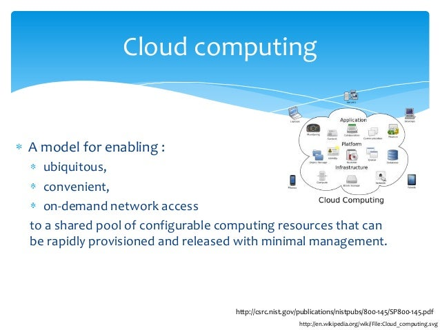 Cloud computing thesis