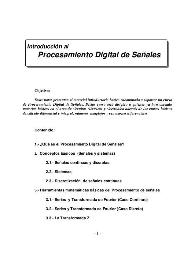 Digital señales (diapositava 1)