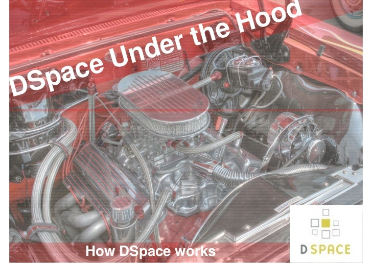 Hood                  er the            e U nd    Sp acD        How DSpace works