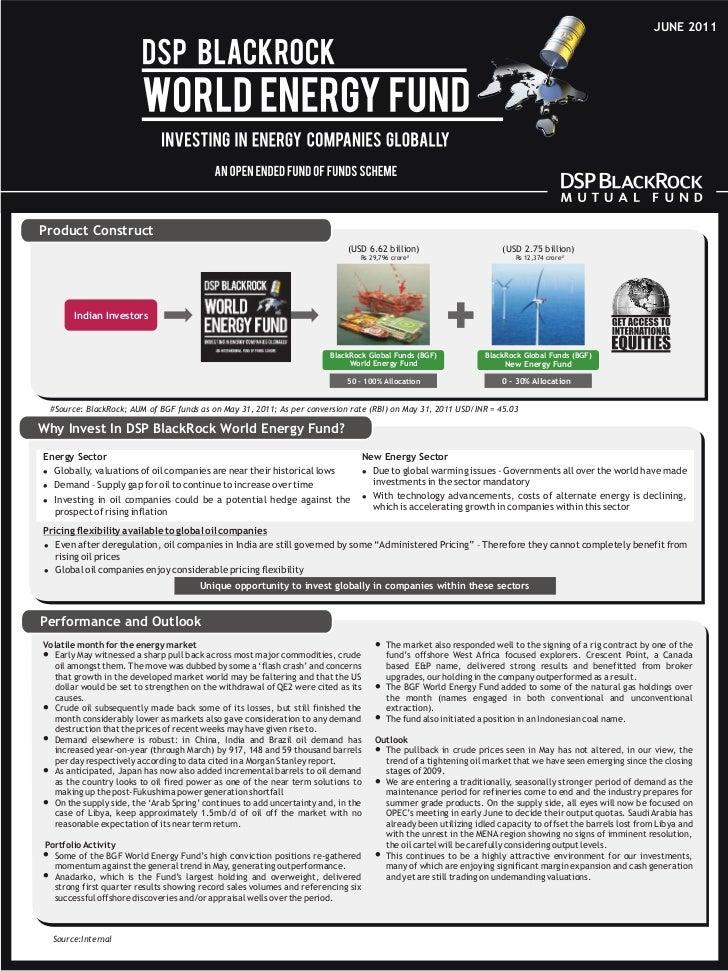 DSP BlackRock World Energy Fund