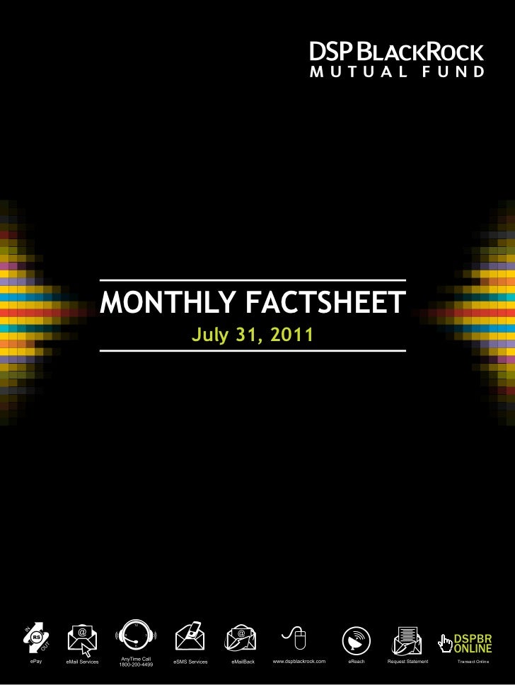 Dspbrmf monthly factsheet_jul_312011