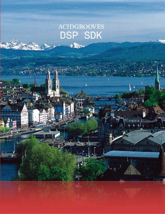 Acidgrooves DSP SDK Brochure