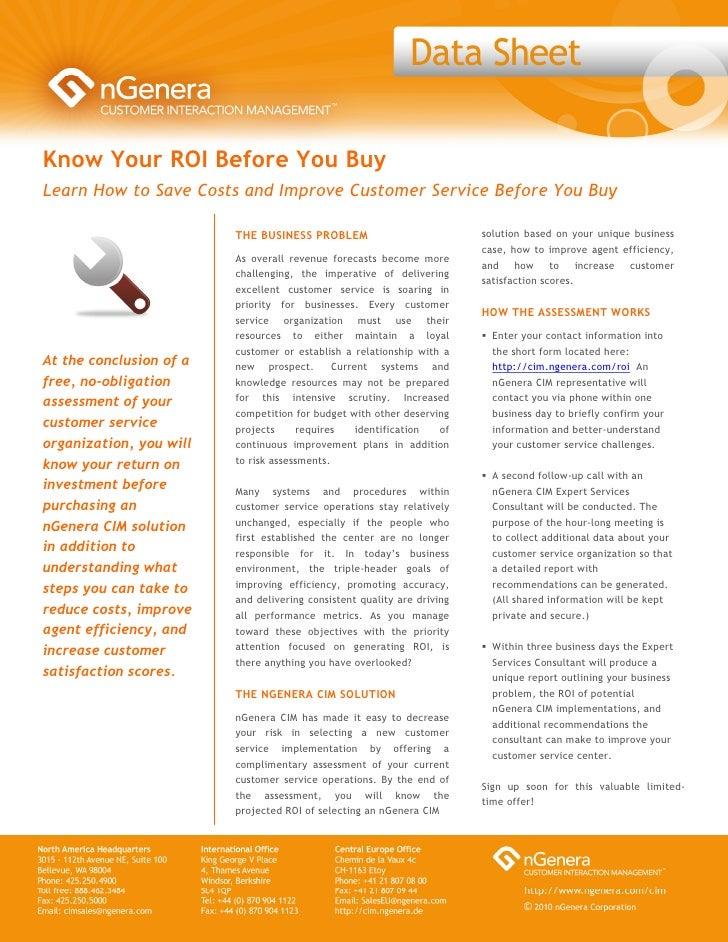 Free Customer Interaction Assessment