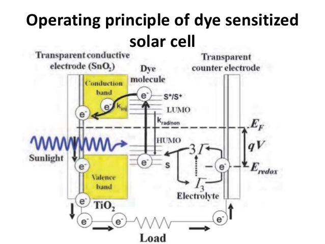 thesis on dye sensitized solar cell