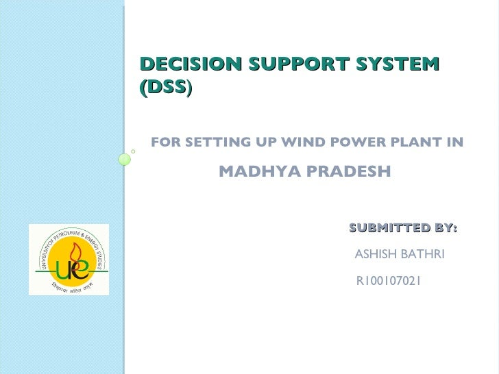 Dss For Wind Power Plant