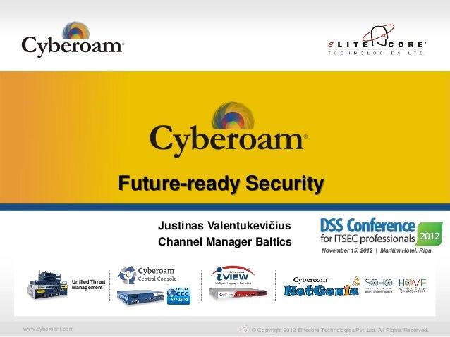 Securing You                                Future-ready Security                                    Justinas Valentukevič...