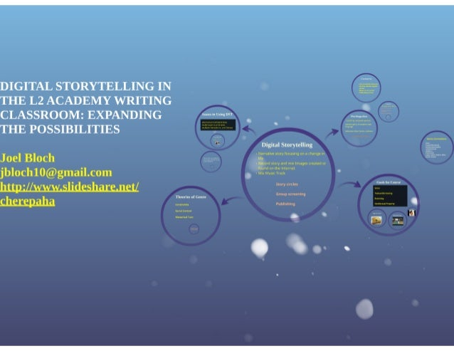 DIGITAL STORYTELLING IN THE L2 ACADEMY WRITING CLASSROOM: EXPANDING THE POSSIBILITIES