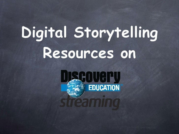 Digital Storytelling Resources on