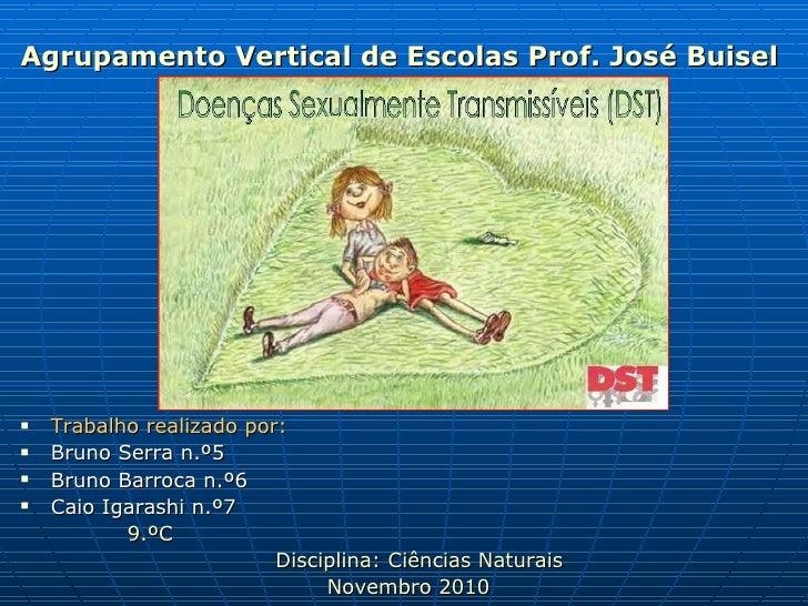 <ul><li>Agrupamento Vertical de Escolas Prof. José Buisel </li></ul><ul><li>Trabalho realizado por: </li></ul><ul><li>Brun...