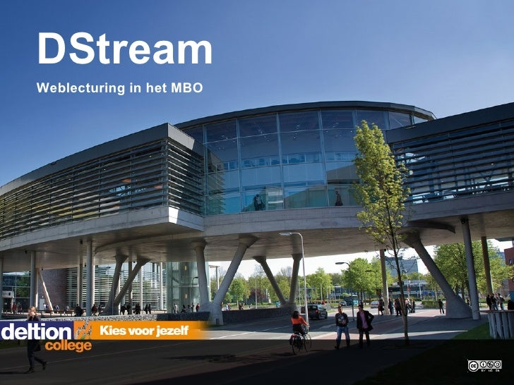 Dstream. Weblecturing in het MBO