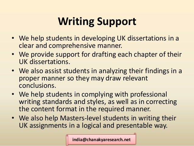 Dissertation Consulting Service Essay Writing