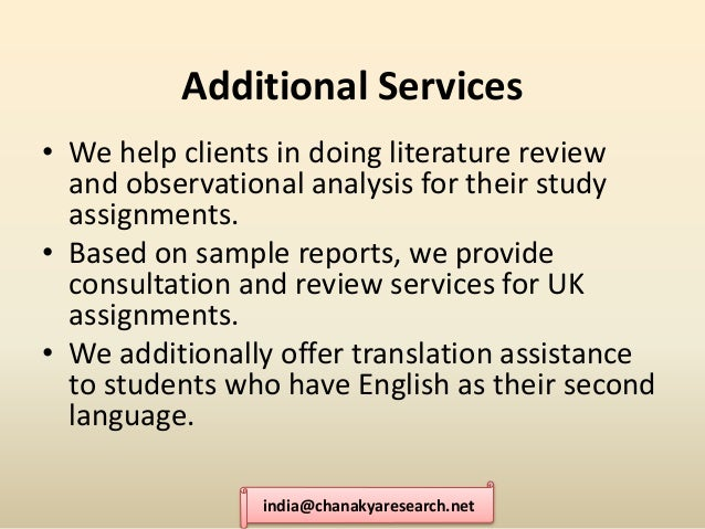Dissertation consultation services in uk