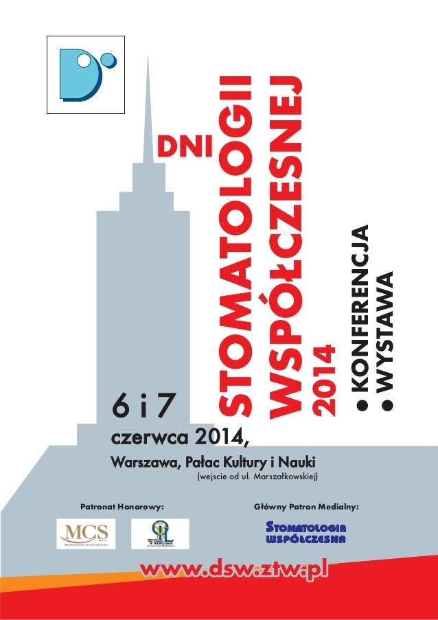 Dsw 2014   folder z programem
