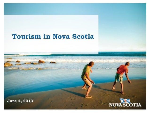 DSWNA Nova Scotia Tourism Agency 2013