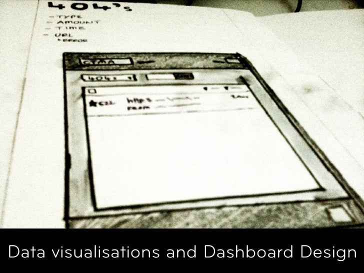 Data visualisations and Dashboard Design