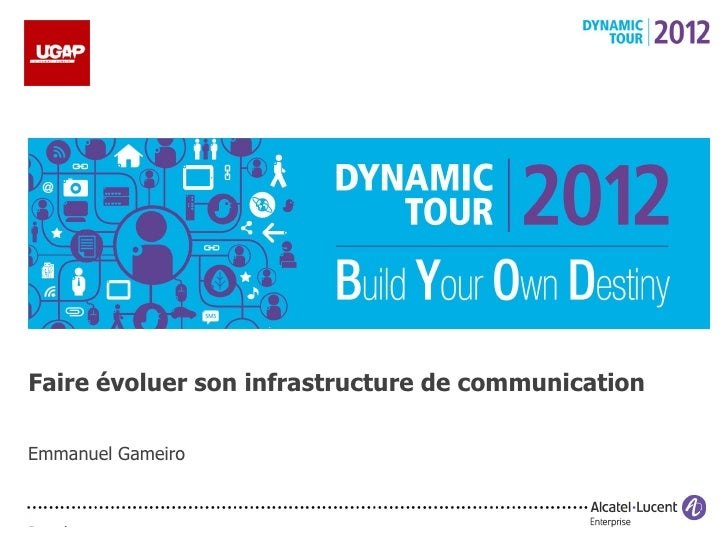 UGAP - Dynamic Tour - Faire évoluer son infrastructure de communication
