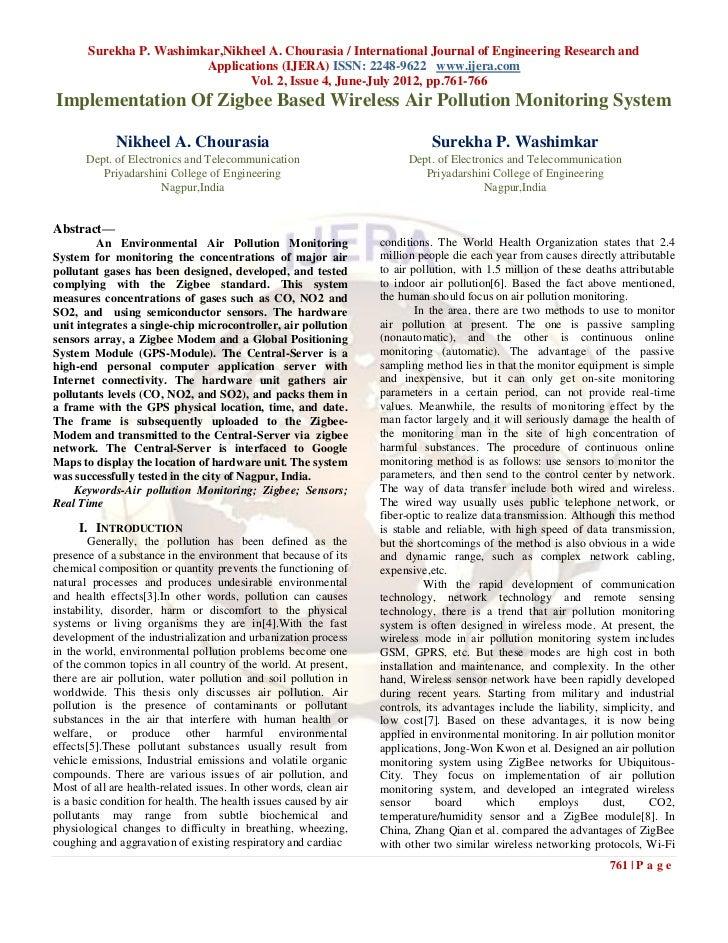 Surekha P. Washimkar,Nikheel A. Chourasia / International Journal of Engineering Research and                         Appl...