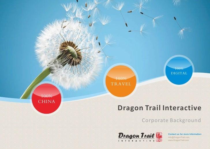 Dragon Trail Interactive Corporate Background