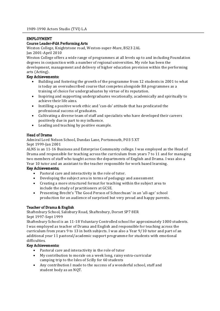 nqt teacher cv template selo l ink co