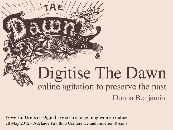 Digitise the Dawn - Powerful Users