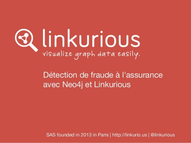 Graphes et détection de fraude : exemple de l'assurance