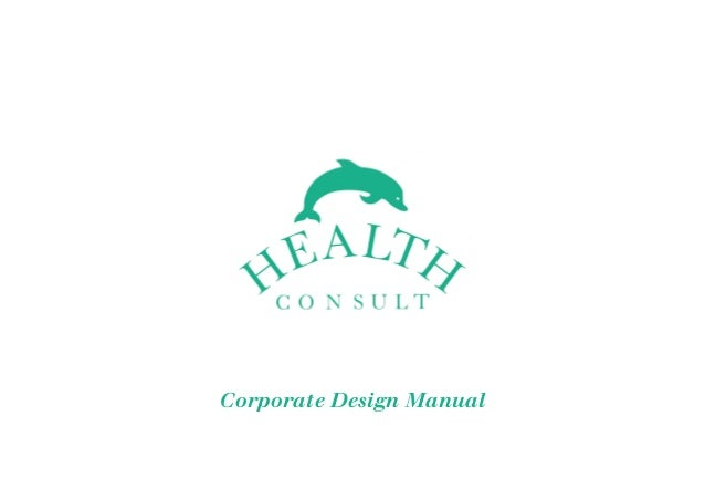 Dt health consult corporate design manual