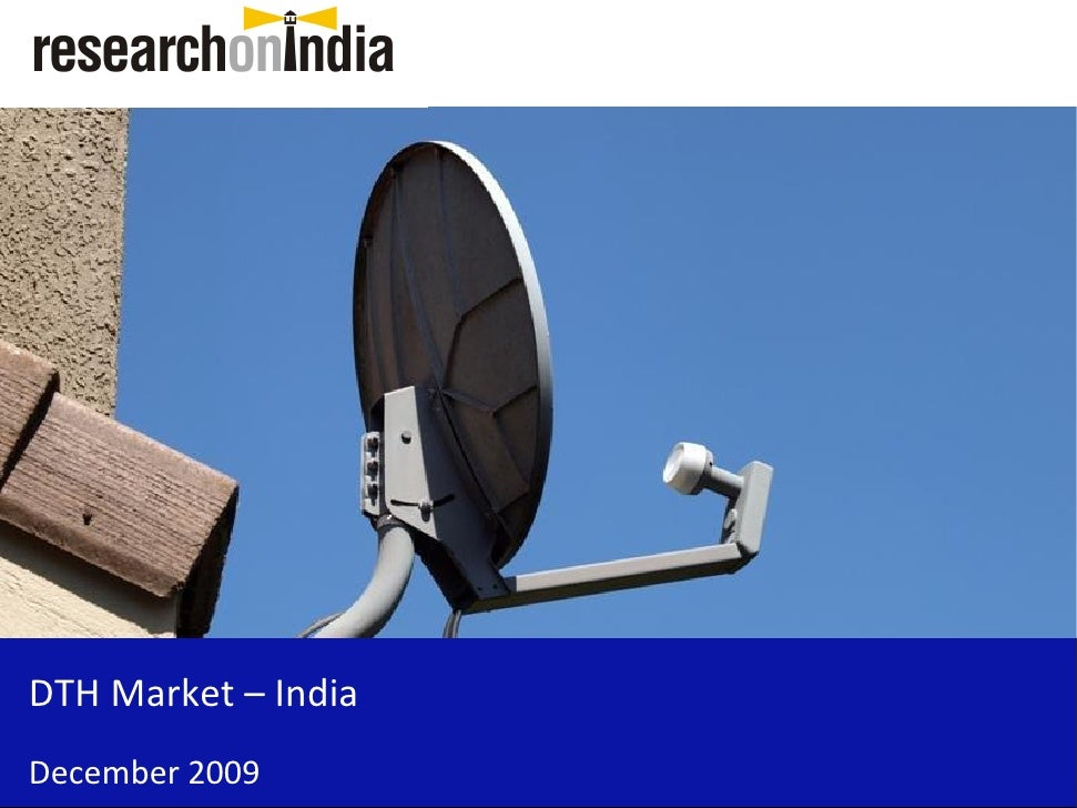 DTH Market – India December 2009
