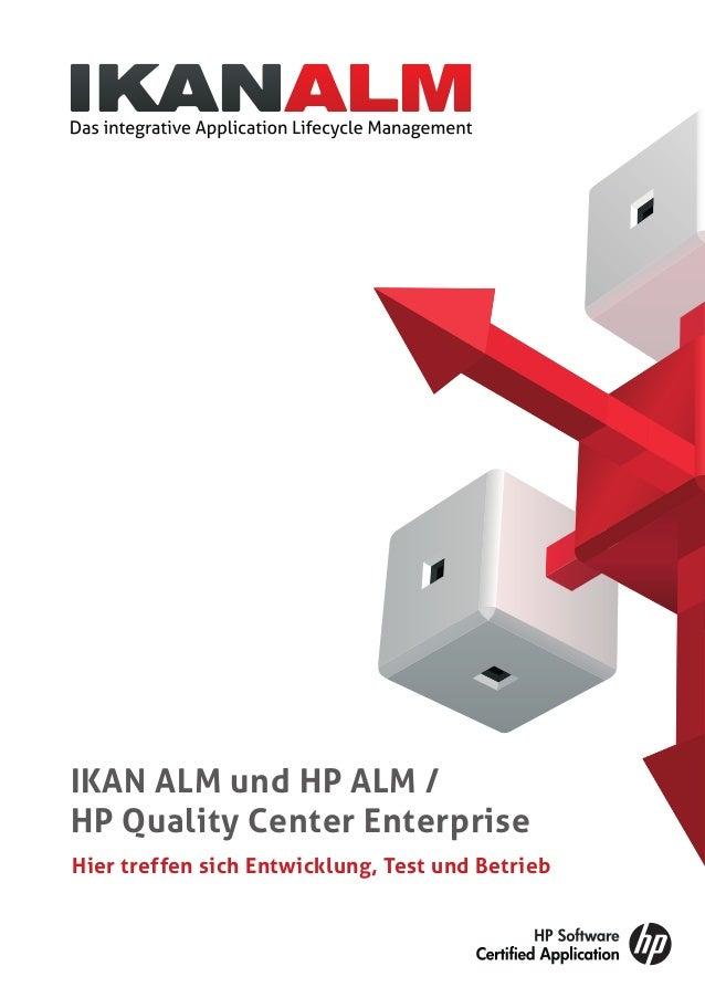 Hier treffen sich Entwicklung, Test und Betrieb IKAN ALM und HP ALM / HP Quality Center Enterprise